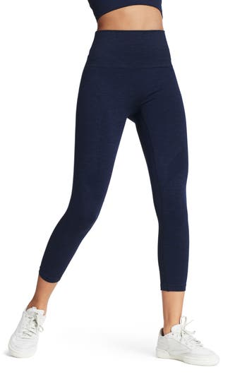 Lndr Six Eight High Waist Crop Leggings, Blue