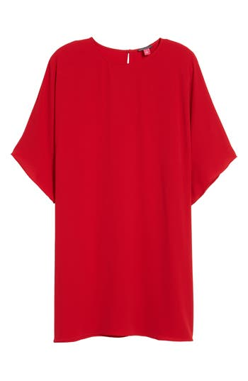 Vince Camuto Dolman Sleeve Dress, Red