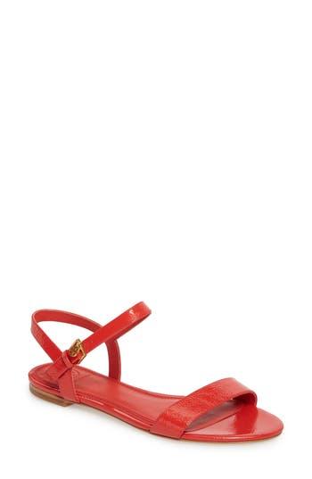 Women's Tory Burch Laurel Strappy Sandal, Size 9 M - Orange