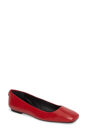 Calvin Klein Enith Flat- Red