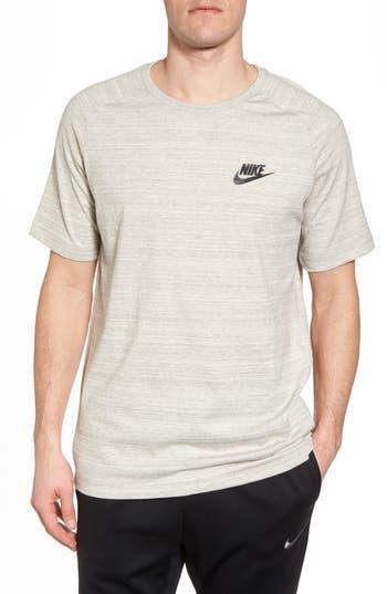Nike Nsw Av15 Crewneck T-Shirt, Grey