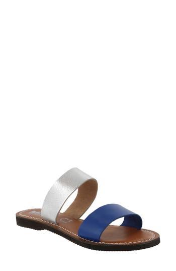 Women's Mia Nila Two-Band Slide Sandal, Size 8.5 M - Blue