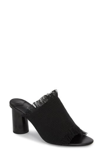 Women's Tony Bianco Woven Mule, Size 6 M - Black