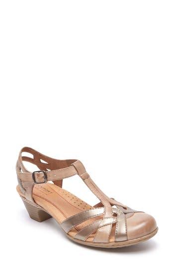 Women's Rockport Cobb Hill 'Aubrey' Sandal, Size 8 N - Beige