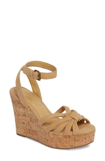 Splendid Fallon Wedge Sandal- Beige