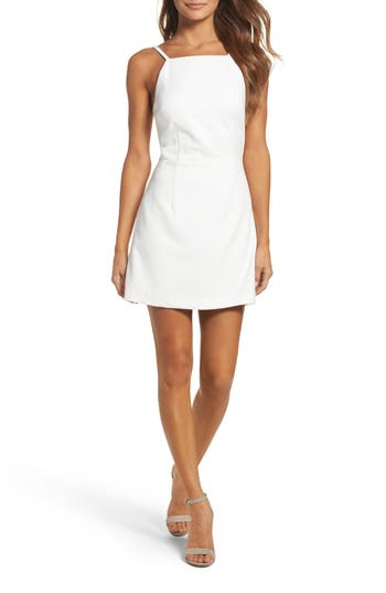 French Connection Whisper Light Sheath Dress, White