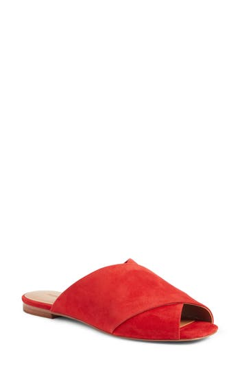 Rebecca Minkoff Anden Slide Sandal, Red