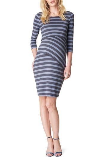 Noppies Aaike Maternity/nursing Sheath Dress, Blue