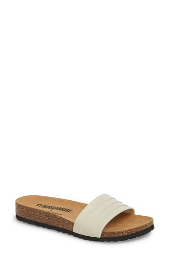 Amuse Society X Matisse Santos Slide Sandal, Ivory