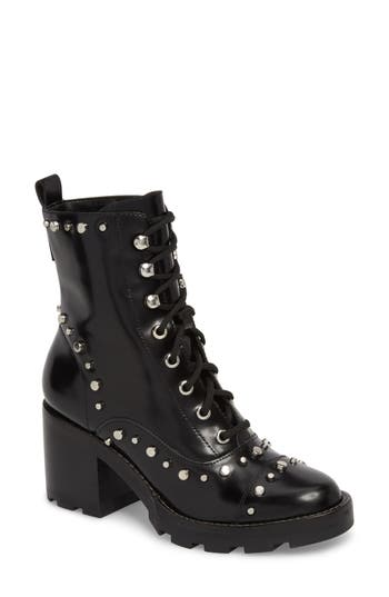 Marc Fisher Ltd Westly Combat Boot, Black