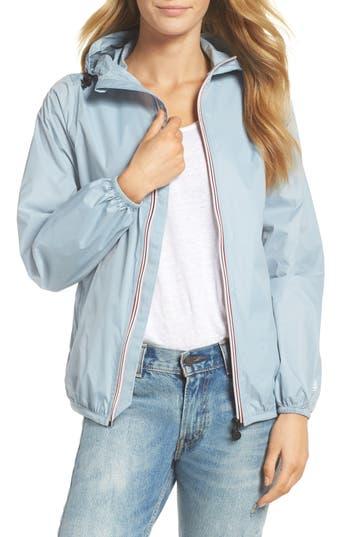 O8 Lifestyle Packable Rain Jacket, Blue