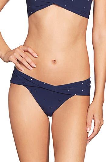 Robin Piccone Jennie Twist Bikini Bottom, Blue