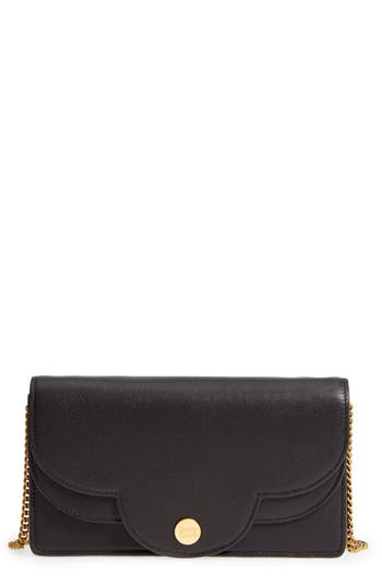 See By Chloe Polina Leather Crossbody Bag - Black
