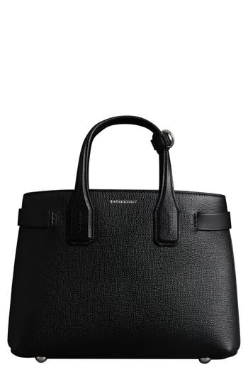 Burberry Small Banner Tote - Black