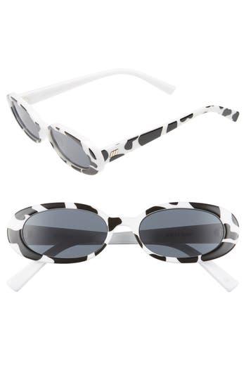 Le Specs Outta Love 4m Cat Eye Sunglasses - Safari