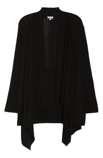 Splendid Pajama Cardigan, Black