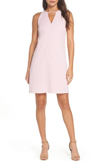 Sam Edelman Keyhole Shift Dress, Pink