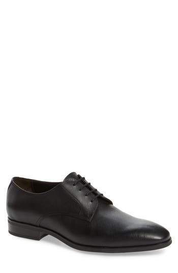 To Boot New York Dwight Plain Toe Derby- Black