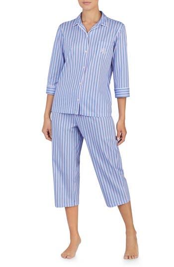 Lauren Ralph Lauren Capri Pajamas, Purple