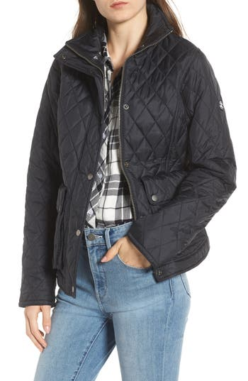 Barbour Fairway Quilted Jacket, US / 16 UK - Blue