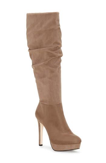Jessica Simpson Rhysa Knee High Boot, Beige