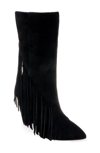 Splendid Camron Fringe Boot- Black