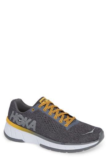Hoka One One Cavu Running Shoe- Grey