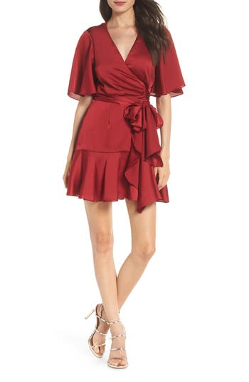 Keepsake The Label Breathe Minidress, Red