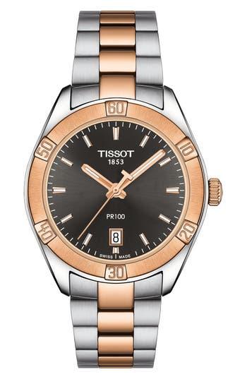 Tissot Pr 100 Sport Chic Bracelet Watch,