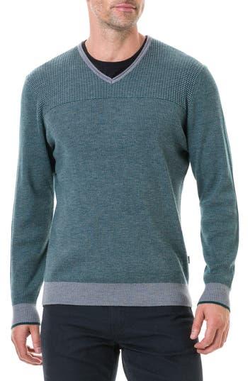 Rodd & Gunn Clark Valley Wool Sweater, Green