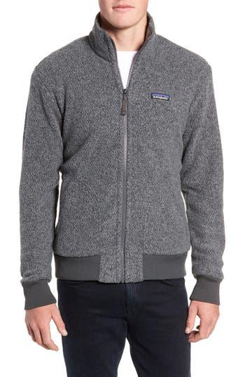 Patagonia Woolyester Fleece Jacket, Grey