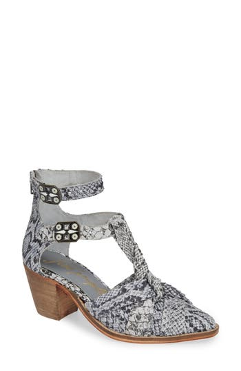 Free People Canosa Cutout Bootie, Grey