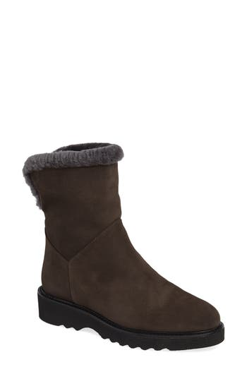 Aquatalia Kaitlyn Genuine Shearling Boot, Grey