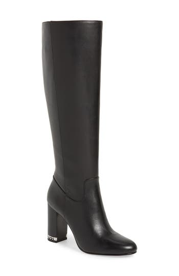 Michael Michael Kors Walker Knee High Boot, Black