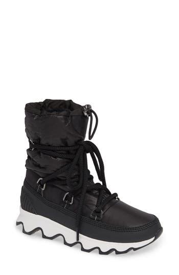 Sorel Kinetic Waterproof Insulated Winter Boot, Black