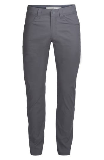 Icebreaker Persist Straight Pants, Grey