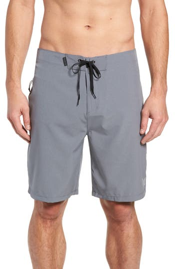 Hurley Phantom One And Only Board Shorts, Grey