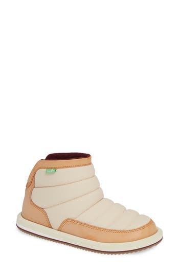Sanuk Puff N Chill Boot, Ivory