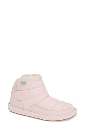 Sanuk Puff N Chill Boot, Pink