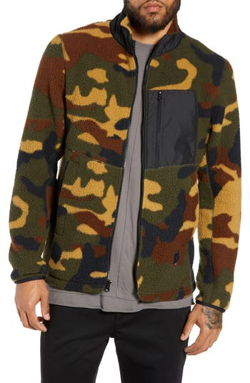 Herschel Supply Co. Tech Fleece Jacket, Green