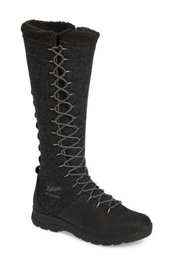 Woolrich Crazy Rockies Iii Lace-Up Knee High Boot- Black