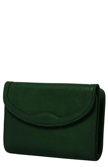 Queen Bee Vegan Leather Wallet - Green, Army Green