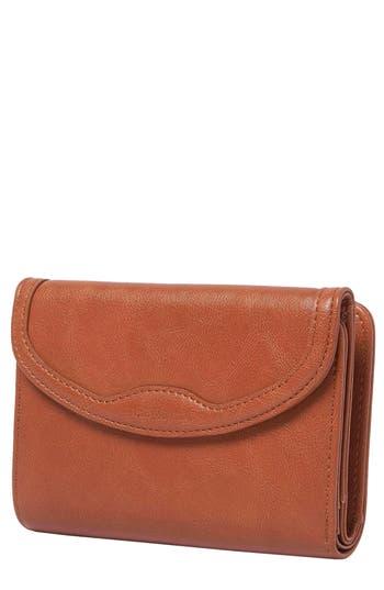 Queen Bee Vegan Leather Wallet - Brown, Tan