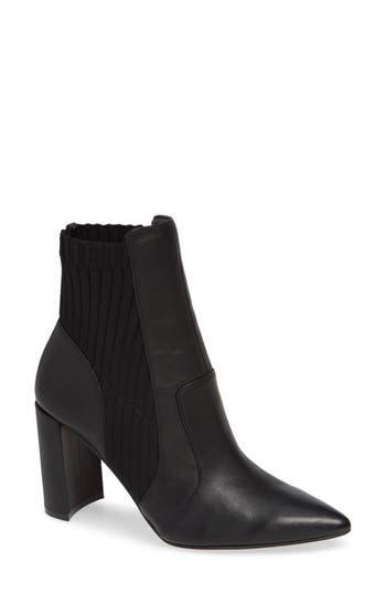 Sole Society Salmay Sock Bootie, Black