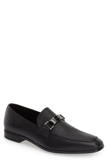 Men's Prada Saffiano Leather Bit Loafer