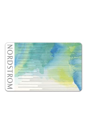 Nordstrom Silver Strings Gift Card $40