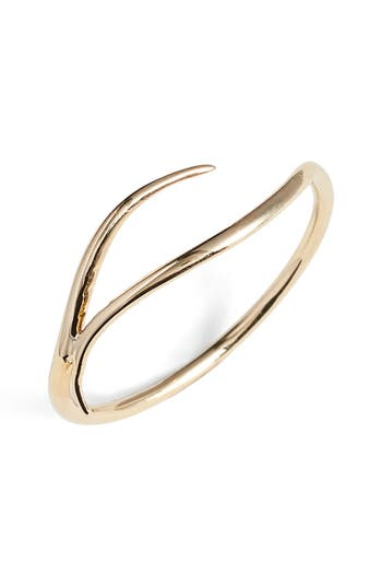 Women's Sarah & Sebastian 'Tenor' Gold Wave Ring