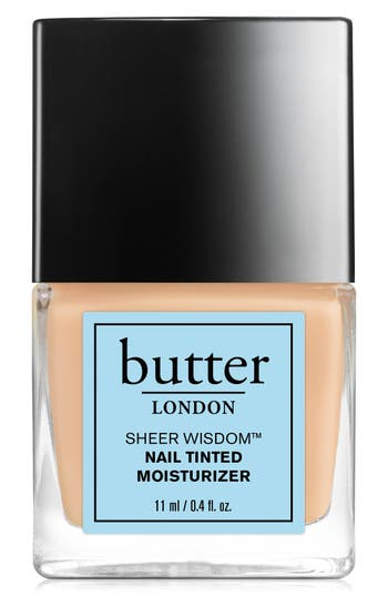 Butter London 'Sheer Wisdom(TM)' Nail Tinted Moisturizer - Light