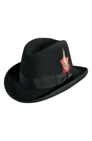 Men's Scala Wool Homburg Hat -