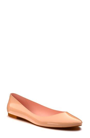 Women's Shoes Of Prey Ballet Flat, Size 3 A - Beige